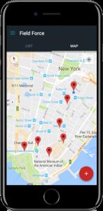 Saha Ekibi Yönetimi - Harita Görünüm