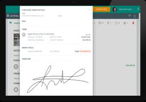 FieldPie: Saha Otomasyonu - Sipariş Detayı Ekranı