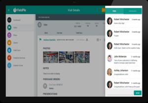 FieldPie: Saha Otomasyonu - Ziyaret Detayları Ekranı