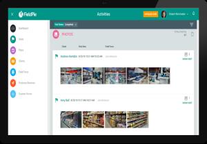 FieldPie: Saha Otomasyonu - Aktivite Ekranı