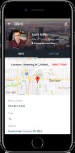 Saha Ekibi Yönetimi - Müşteri Bilgisi Ekranı