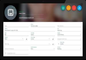 FieldPie: Saha Otomasyonu - Müşteri Bilgisi Ekranı
